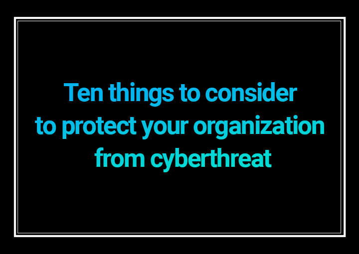 Protect your business from cyberthreats