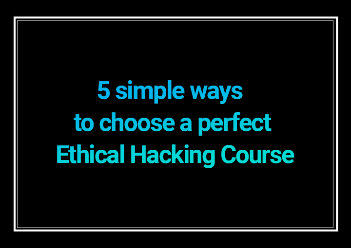 Ethical Hacking Course 2020